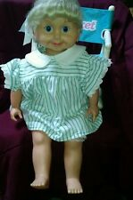 Vintage 1986 Playmates CRICKET Talking  Doll with 9 Tapes, extra outfits, chair