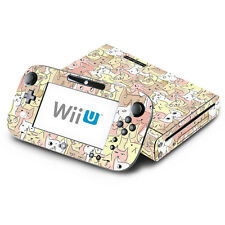 Kitty Cat for Nintendo Wii U Console & GamePad Skin Vinyl Decal Cover