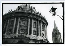 PHOTO tirage argentine Radcliffe camera OXFORD monument scène de genre 80