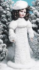 BEAUTIFUL Winter Bride Outfit/Crochet Pattern INSTRUCTIONS ONLY