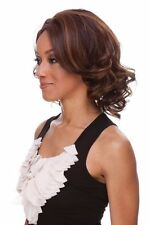 KENDRA Sepia LaceFront Wig Short Curly Layered Hairstyle *UPickColor* FREE SHIP