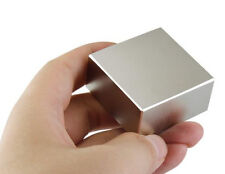Strong Large Block Neodymium Magnets N52 40x40x20mm Square Ndfeb Lifting Magnets