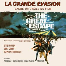 CD La Grande Evasion The Great Escape Elmer Bernstein - Bande Originale du Film