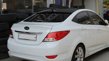 Rear Trunk Lip Spoiler  For Hyundai  Accent ; Verna ; Solaris (2011~on)////