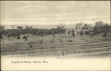 Hyannis Cape Cod MA Englewood Beach & Homes c1910 Postcard