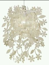 Modern Cream Leaf & Flower  Ceiling Pendant Light Lamp Shade Chandelier