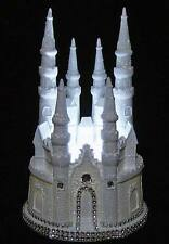 DIAMOND CASTLE CINDERELLA WEDDING CAKE TOPPER FAIRYTALE