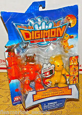 Bandai DIGIMON DATA SQUAD LIGHTNING DIGIVOLVING AGUMON GEOGREYMON Figure NEW