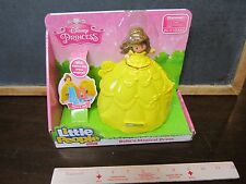 Fisher Price Little People Disney Princess Belle's magical yellow dress House