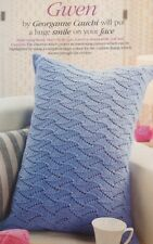 Knitting pattern per CHEVRON Stitch Cuscino