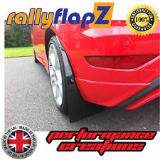 Rally Style Mudflaps Fits FORD FIESTA ST ST180 (2013 on) Mud Flaps Black 4mm PVC
