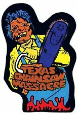 TEXAS CHAINSAW MASSACRE  1970's Vintage Style  Bumper Sticker Travel Decal Label