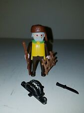 PLAYMOBIL Western Fur Trapper With Coonskin Cap and Stretched Hide & Gear