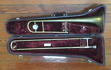 1960 Conn 18H Director model USA Trombone w/ Hard Case 12C Mouthpiece