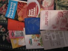 Lot of cookbooks books meals cooking kitchen pies cakes breads entrees lunches