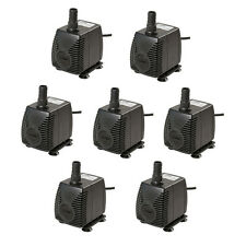 7pcs 210 GPH Submersible Pump Aquarium Tank Powerhead Fountain Water Hydroponic