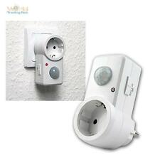 Plug With Motion Detector 120º White 230c For Led Lighting Pir