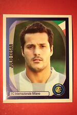 PANINI CHAMPIONS LEAGUE 2007/08 N. 163 JULIO CESAR INTER WITH BLACK BACK MINT!!