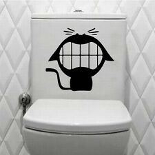 Hot Laughing Cat Vinyl Wall Stickers for Bathroom Small Stuff Cartoon Wallpapers