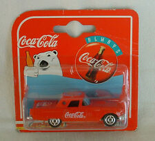 Die Cast COCA COLA CAR '57 FORD THUNDERBIRD Majorette RADIO GRILL Metal COKE NIB