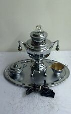 Vintage : MB Means Best Coffee Maker Cream & Sugar Bowls, Tray