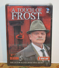 A Touch of Frost - Season 5 (2004, 3xDVD Set) Mystery Detective UK TV Show