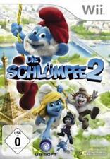 Nintendo Wii +Wii U Die Schlümpfe 2 Deutsch Top Zustand