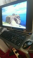 HP Touchsmart IQ771 todo en uno de escritorio de Windows 7, 64 Bits