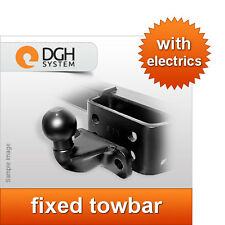 Fixed towbar Toyota Hilux with step with preparation 2005/2010+electric kit