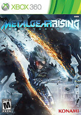 XBOX 360 GAME- Metal Gear Rising Revengeance  (Microsoft XBOX 360)  NEW