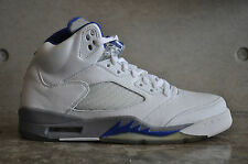 Nike Air Jordan 5 Retro 2006 - White/Sport Royal/Stealth 7 UK