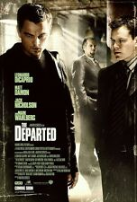 The Departed movie poster - Leonardo DiCaprio, Mark Wahlberg : 11 x 17 inches