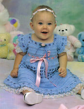 DARLING Springtime Baby Dress/Crochet Pattern Instructions