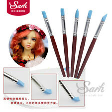 5pcs/set Silicone Decorating Brush Fondant Shaping Pen