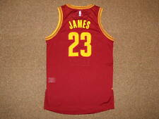 Lebron James Cleveland Cavaliers Wine Adidas Rev 30 Authentic Jersey L +0 Mesh