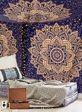 Indian Ethnic Mandala Wall Hanging Tapestry Bohemian Dorm Decor Hippie Bedspread