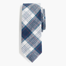 J.CREW COTTON TIE In IRISH DÉLAVÉ LINEN for Fall 2016 Collection $70 NWT