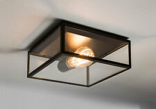 Astro Bronte IP23 Outdoor esterno soffitto luce 60W E27 NERO (NO Bulb)