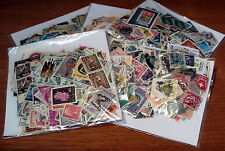 500 OFF PAPER ALL WORLD STAMPS, MAINLY USED, SOME OLDER SEEN, GOOD CONDITION.