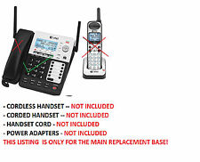 BASE ONLY - AT&T SB67138 SB67118 4 Line Corded Cordless Intercom  Phone System