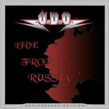 U.D.O. LIVE FROM RUSSIA ANNIVERSARY EDITION BRAND NEW SEALED 2 CD SET UDO