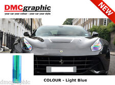 30x100cm Chameleon Light Blue Car Motorbike Headlight Tail Light Tint Film PVC