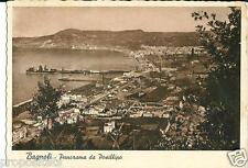 cm 079 1950 BAGNOLI (Napoli) Panorama da Posillipo - viagg. -Ed. Conte Bagnoli