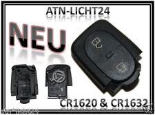 CR16 CR1632 Klappschlüssel Sendeeinheit Gehäuse Oval VW Passat 3B 3BG Golf Bora