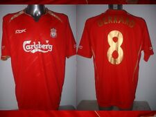 Liverpool GERRARD Adult L Champions League Reebok Shirt Jersey Soccer Football