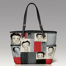 Sassy Patches Betty Boop Hand Bag /  Purse Bradford Exchange