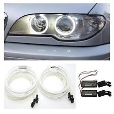 BMW E46 Coupe Facelift 2003-05 CCFL Angel Eye Kit 6000K Ice White UK Seller