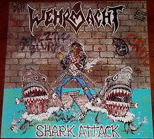 Wehrmacht - Shark Attack LP / Vinyl / Original European Press (1987) Thrash