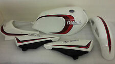 YAMAHA  RD250LC RD350LC 4LO 4L1  MODELS 2 STRIPE RED FULL PAINTWORK DECAL KIT