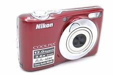 Nikon Coolpix L22 12MP 3'' SCREEN 3.6 X DIGITAL CAMERA RED